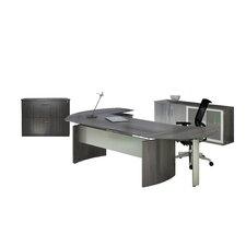 Medina Series 3-Piece L-Shape Desk Office Suite