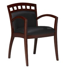 Corsica Wood Guest Chair  (set of Two)