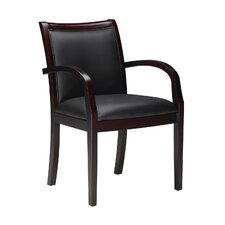 Corsica Wood Guest Chair 7 (Set of Two)
