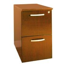 Napoli Series 2-Drawer File-Flie Pedestal