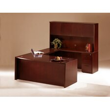 Corsica Executive Suite with Wood Door Hutch