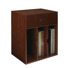 "Sorrento Series 19.75"" H x 18.5"" W Desk Hutch"