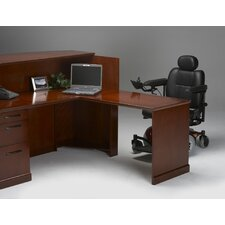 "Sorrento Series 45"" H x 72"" W Reception Station"