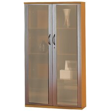"Corsica Series 68"" Glass Door Wall Cabinet"