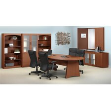 <strong>Mayline Group</strong> Brighton Standard Desk Office Suite