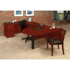 Luminary Series U-Shape Executive Desk Typical #13