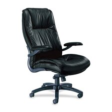 Series 100 High-Back Leather Executive Office Chair