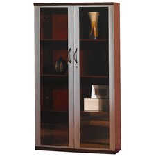 "68"" H Wall Cabinet with Glass Doors"