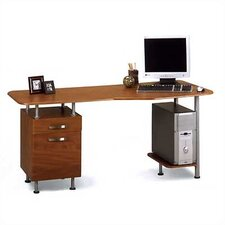 Eastwinds Computer Desk with File