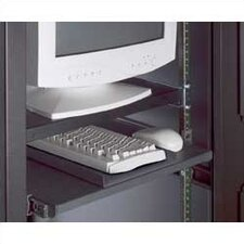 "19"" Rack Mount Pivoting Keyboard Platform for DLC and SDC Cabinets"