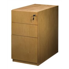 "<strong>Mayline Group</strong> Luminary 22"" Pedestal with Three Drawers"