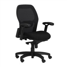 <strong>Mayline Group</strong> AVA 3200 Mid-Back Mesh Office Chair with Arms