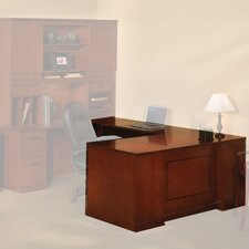 <strong>Mayline Group</strong> Sorrento L-Shaped Executive Desk