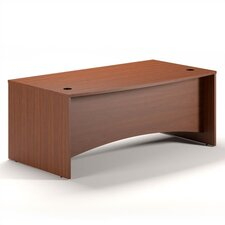 Brighton Bow Front Desk Shell