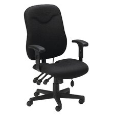 <strong>Mayline Group</strong> Comfort High-Back Executive Chair with Arms