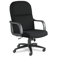 High-Back Executive Chair with Loop Arms