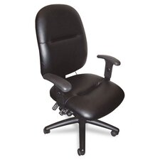 <strong>Mayline Group</strong> Mid-Back Leather Task Chair