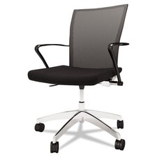 <strong>Mayline Group</strong> Mid- Back Mesh Task Chair with Arms