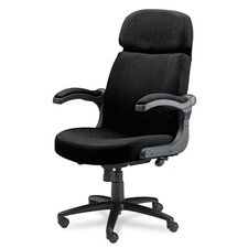 High-Back Pivot Office Chair with Arms
