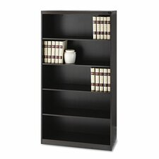 Aberdeen Series Laminate Five Shelf Bookcase