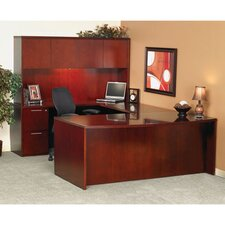 Luminary Series Bow Front Desk Shell