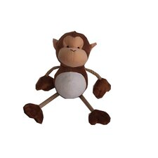 <strong>Best Pet Supplies</strong> Monkey with rope Plush Dog Toy