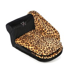 Pet Sofa in Leopard Print