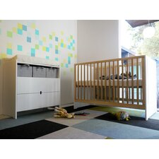 <strong>Spot on Square</strong> Oliv 3 Piece Nursery Crib Set