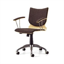 <strong>Source Seating</strong> Mid-Back Zag Moves Swivel Chair