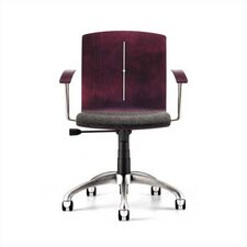 <strong>Source Seating</strong> Zag Moves Swivel Office Chair