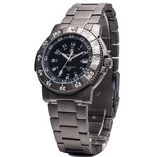 Executive Men's Tritium H3 Round Face Link Watch