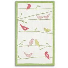 Bird Tree Kids Rug