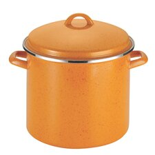 Signature Enamel 12-qt. Stock Pot with Lid