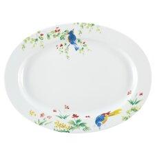"""Spring Medley 14.25"""" Oval Platter"""