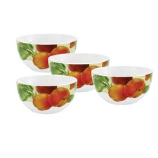 <strong>Paula Deen</strong> Georgia's Bounty Cereal Bowl (Set of 4)