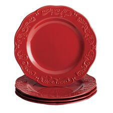 "<strong>Paula Deen</strong> Signature Spiceberry 11"" Dinner Plate (Set of 4)"