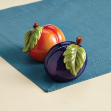 Signature Orchard Harvest Salt and Pepper Shaker Set
