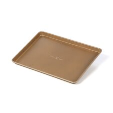 "Aluminized Steel 13"" x 18"" Half Sheet Pan"