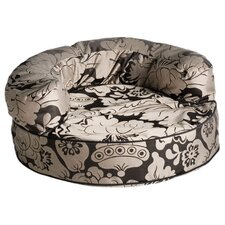 Couture Melrose Licorice Bolster Dog Bed