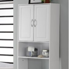 Bathroom Wall Cabinet with Two Doors in White