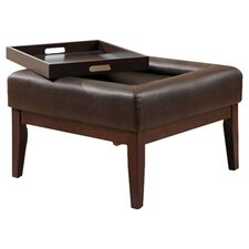 Preston Button Top Ottoman