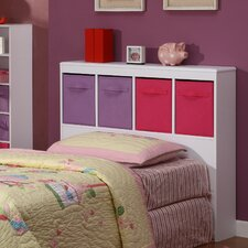 <strong>4D Concepts</strong> Girl's Twin Bookcase Headboard