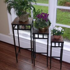 Slate Nesting Plant Stand (Set of 3)