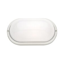Bermuda 1 Light Plain Exterior Wall Light in 304 Stainless Steel