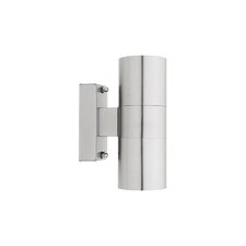 Oslo 2 Light Outdoor Wall Light in 304 Stainless Steel