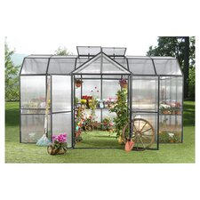 9' H x 10.0' W x 15.0' D Polycarbonate Royal Garden Greenhouse