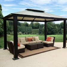 "Monica Four Season 9' 11"" W x 13' 3"" D Gazebo"