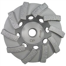 "4"" - 7"" Premium Segmented Turbo Cup Wheel for Mortar & Concrete"