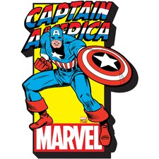 Marvel - Captain America with Logo Magnet
