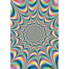 Fractal Illusion Tin Sign Graphic Art